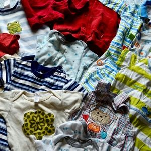 Baby Boy Bargain Lot of Play Clothes